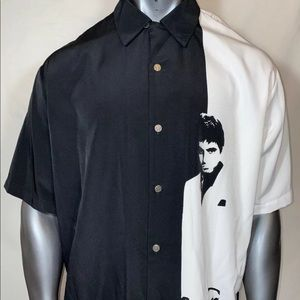 DRAGONFLY Clothing Co SCARFACE Shirt Mens XL